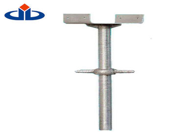 Construction Adjustable U Head Jack Base U Head Scaffolding Q235 Round Steel