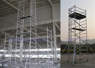 Alloy Aluminium Mobile Tower Scaffold Lightweight Scaffold Tower Platform 272kg Load Capacity