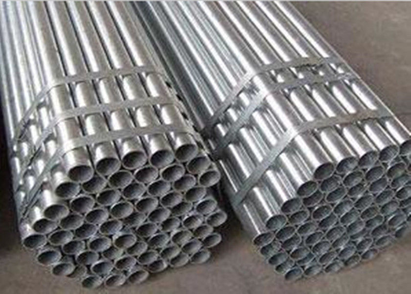 Thread Aluminum Pipe Scaffolding 48mm Scaffold Tube Electronic Resistance Welded