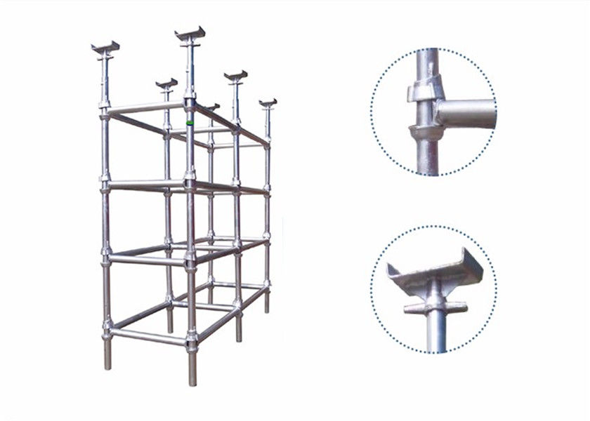 High Flexibility Cuplock Stair Tower Cuplock Scaffolding Parts SGS Certification