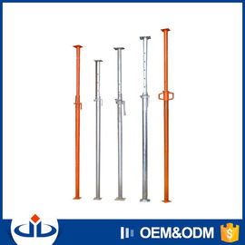 Customized Scaffolding Steel Props Push Pull Shoring System For Building