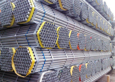 Pre - Galvanized Metal Scaffold Pipe High Strength Threaded Scaffold Tube