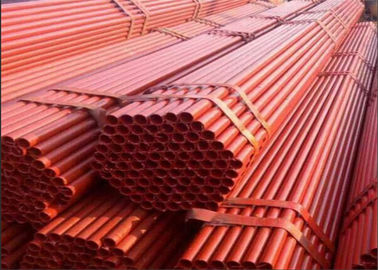 Construction Galvanized Scaffolding Pipe Tube Hot Dipped Scaffold Parts Quick Erect