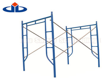 Pre - Galvanized Scaffolding Frame System Scaffolding Walk Through Ladder