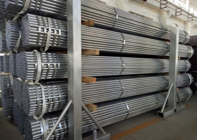 Fluid Pipe Steel Scaffolding Systems Aluminium Scaffold Tube Per Foot 2 Mm Thickness